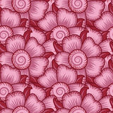 Floral Seamless Wallpaper Pattern Royalty Free Stock Photography