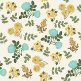 Floral seamless wallpaper Royalty Free Stock Photos