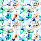 Floral Seamless wallpaper vector illustration