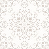 Floral seamless wallpapers in the style of Baroque Royalty Free Stock Photography