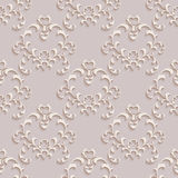 Floral seamless wallpapers in the style of Baroque Stock Photo