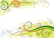 Floral seasonal design Stock Photo