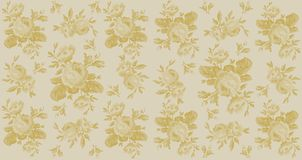 Floral Sepia Background royalty free stock images
