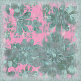 Floral Shabby Background. Soft, floral and feminine background for scrapbooking, etc Stock Images