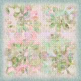 Floral Shabby Background Stock Images