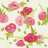Floral Shabby Chic Background Royalty Free Stock Photo