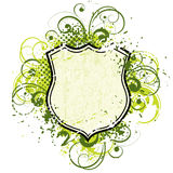 Floral Shield Royalty Free Stock Images