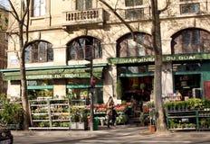 Floral Shop - Paris Royalty Free Stock Photos