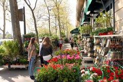 Floral Shop - Paris Royalty Free Stock Image