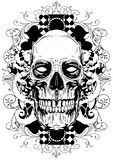 Floral skull Royalty Free Stock Photos