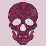 Floral skull Ornate vector Stock Photo