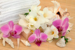Floral Spa Treatment Royalty Free Stock Images