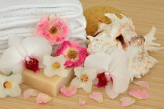 Floral Spa Treatment Stock Images
