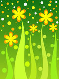 Floral spots. Colorful floral spots Royalty Free Stock Photography