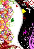 Floral spring background Royalty Free Stock Images