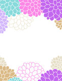 Floral spring and summer themed banner design Stock Photo