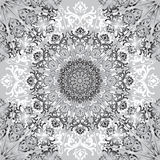 Floral square pattern. Chinese porcelain painting style textured Stock Photography