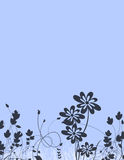 Floral Stationery Stock Photo