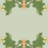 Floral stilization Stock Image