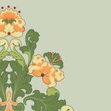 Floral stilization Stock Photo