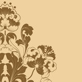 Floral stilization Royalty Free Stock Image