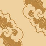 Floral stilization Royalty Free Stock Images