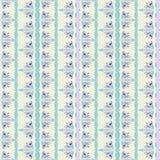 Floral stripes seamless Pattern Royalty Free Stock Photos