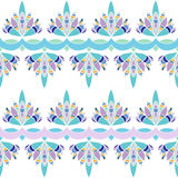 Floral stripes seamless Pattern Royalty Free Stock Photo