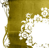 Floral style background Stock Photography