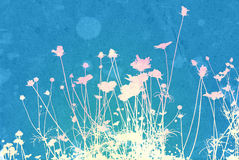 Floral style background Royalty Free Stock Photos