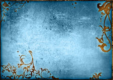 Floral style background Royalty Free Stock Images