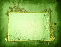 Floral style background frame Royalty Free Stock Images