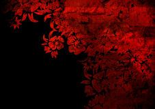 Floral style backgrounds Stock Image