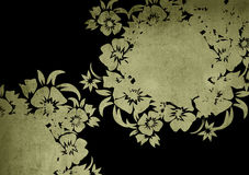 Floral style backgrounds Royalty Free Stock Images