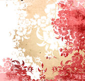Floral style backgrounds. Asia style textures and backgrounds Royalty Free Stock Image