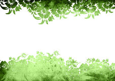 Floral style backgrounds Royalty Free Stock Image