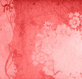 Floral style backgrounds Stock Images