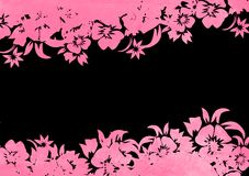 Floral style backgrounds background Royalty Free Stock Photo