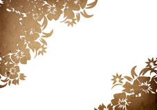 Floral style backgrounds frame Royalty Free Stock Image