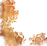 Floral style backgrounds frame Stock Image