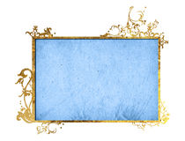 Floral style frame Royalty Free Stock Images