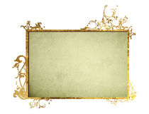 Floral style  frame Stock Images