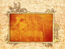Floral style frame Stock Photo