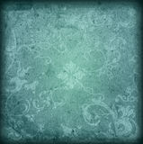 Floral style old paper textures background Stock Photography