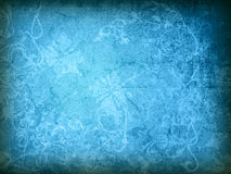 Floral style old paper textures background Stock Images