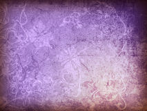 Floral style old paper textures background Stock Image