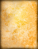 Floral style old paper textures background Royalty Free Stock Images