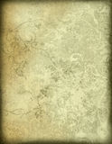 Floral style old paper textures background Royalty Free Stock Image