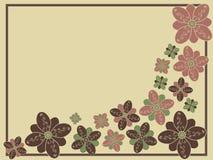 Floral stylisé illustration stock
