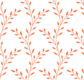 Floral stylish seamless background Stock Images